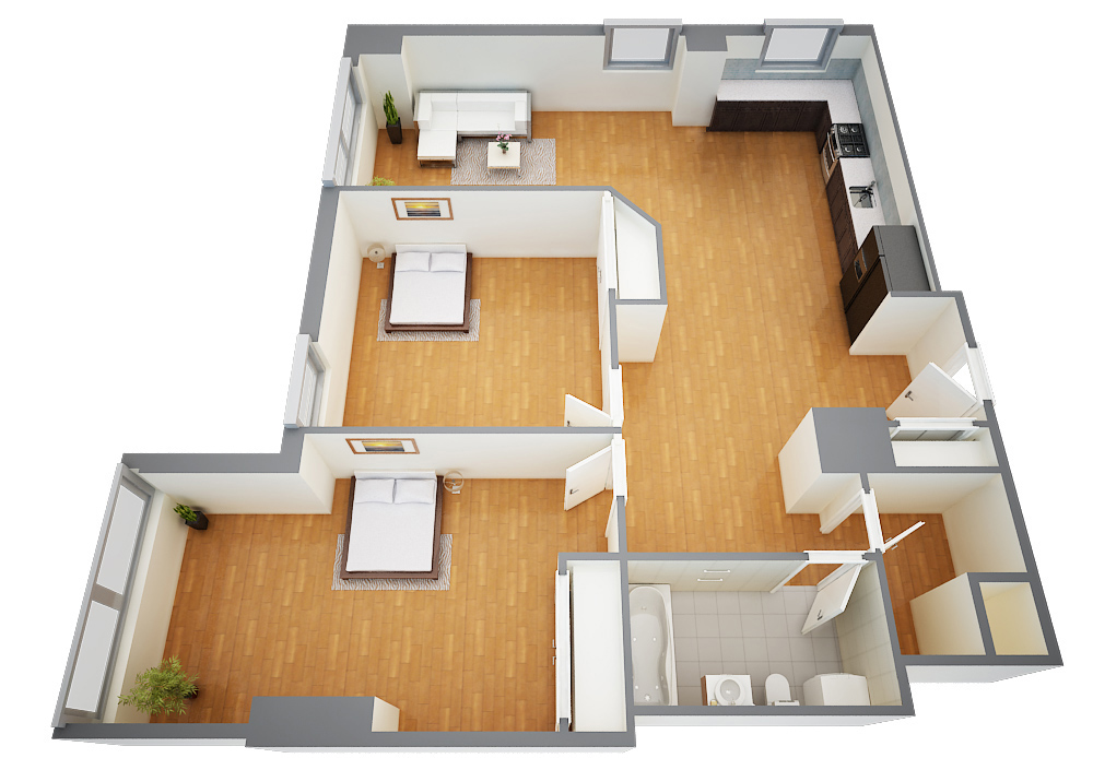 Majestic Floor Plans